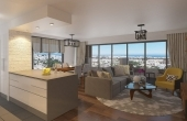 Stylish, Open-plan 3 Bedroom Apartment in Centre of Girne